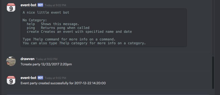 Python Discord Bot